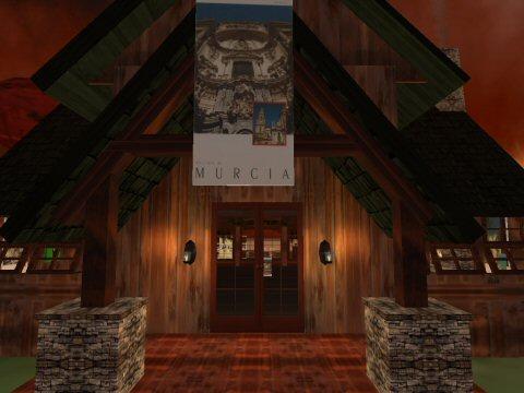 Fiesta en la casa de SL Murcia en Second Life